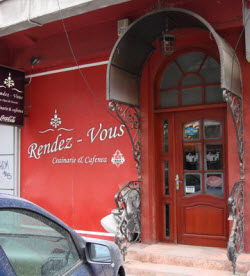 Rendez-Vous - Unfortunately they would not let me take pictures of their lovely tea room