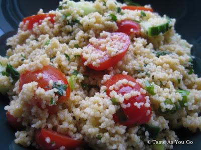 Simple Summer Couscous Salad