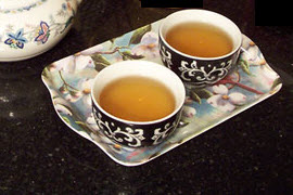 Another version of Earl Grey made with white tea.