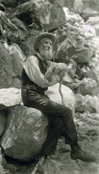 John Muir, Scottish-American naturalist & tea lover, in 1907. Image from Wikimedia Commons.