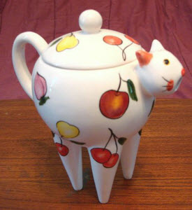 I use this teapot for hot water only
