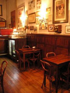 A café-style tea room