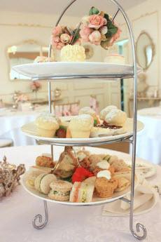 Victorian-style tea service