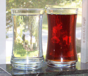 Water or tea? Both hydrate, but the tea gives so much more!