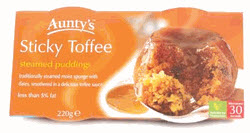 Aunty's Sticky Toffee Pudding (Photo source: The English Tea Store)