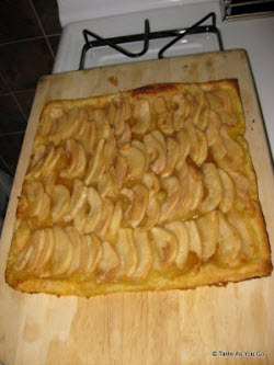 Forelle Pear Tart – didn't last long!