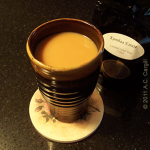 Kambaa Estate was a great tea to review! (Photo source: A.C. Cargill, all rights reserved)