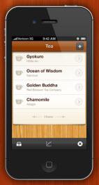 Got an iPhone? Like tea? You need the Tea app.