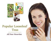 Popular Looseleaf Teas are available - time to stop dabbling! (Photo source: The English Tea Store)