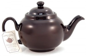Stunt Double: The Brown Betty is devoted to steeping tea and yet is content to remain in the background. (Photo source: The English Tea Store)