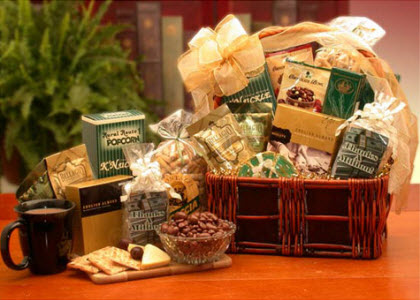 "Maybe they were enjoying this ""A Lasting Impression Thank You"" gift basket (Photo source: The English Tea Store)"