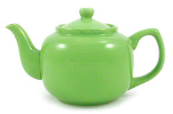 """Ghoulish Green"" 6-Cup Amsterdam Teapot (Photo source: The English Tea Store)"