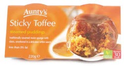 Auntys Sticky Toffee Pudding (Photo source: The English Tea Store)