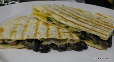 Black Bean Quesadillas (Photo source: Tasteasyougo.com, used with permission)