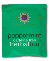 Stash Peppermint Herbal (Photo source: The English Tea Store)
