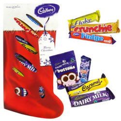 Cadbury Selection Stocking (Photo source: The English Tea Store)