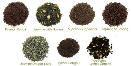 China Tea Sampler (Photo source: The English Tea Store)