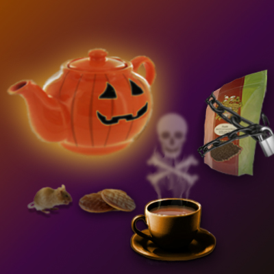 Have a great Halloween Tea Time (Image by Vicky at The English Tea Store)