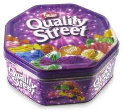 Nestle Quality Street Tin (Photo source: The English Tea Store)