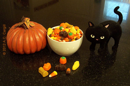 Nothing says Autumn like candy corn — or does it? (Photo source: A.C. Cargill, all rights reserved)