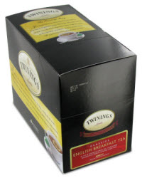 Twinings English Breakfast K-Cups. Have you tried them yet? (Photo source: The English Tea Store)