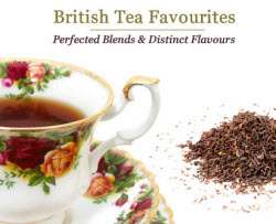 British Favorites for your own private tea party! Too good to toss overboard! (Photo source: The English Tea Store)