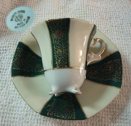 An Occupied Japan cup and saucer that I found in a local antiques shop several years ago. (Photo source: article author)