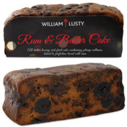 William Lusty Fruit and Rum Cake (Photo source: The English Tea Store)