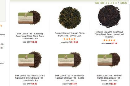 Black teas (Photo source: The English Tea Store)