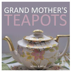 Grand Mother's Teapots by Nelda Powell (Photo used with permission.)