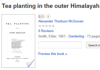 Tea Planting in the Outer Himalayah (Photo source: screen capture from site)