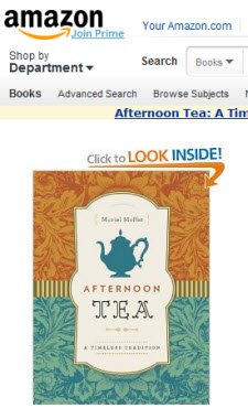 """""""Afternoon Tea: A Timeless Tradition"""" by Muriel Moffat  (Photo source: screen capture from site)"""