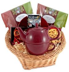 Angel's Dreams Gift Basket (Photo source: The English Tea Store)