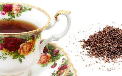 Black tea just the way Bill likes it - well, almost! (Photo source: The English Tea Store)