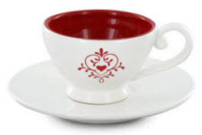 Love Flourish Teacup and Saucer (Photo source: The English Tea Store)