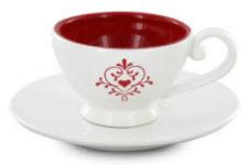 Love Flourish Teacup and Saucer (Photo source: The English Tea Store)