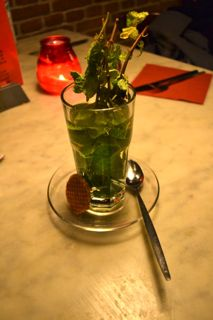 Mint Tisane (Photo source: article author)