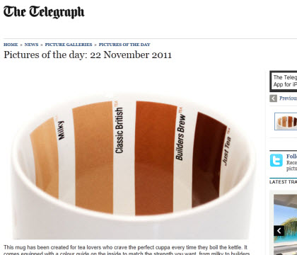 "The ""perfect cuppa"" mug. Do you really need it?"