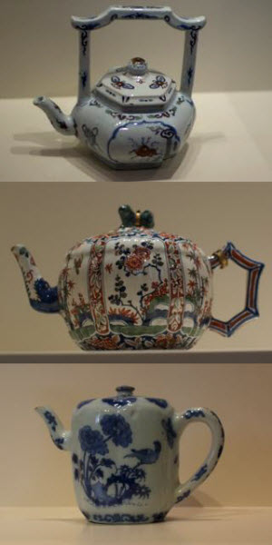 3 Deftware Teapots (Photo source: article author)