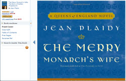 The Merry Monarch's Wife (Photo source: screen capture from site)