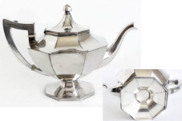 Wilcox Silver Plate Teapot (Photo source: screen capture from site)