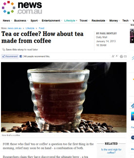 Tea or Coffee (Photo source: screen capture from site)