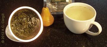 A Hawaiian green tea (Photo source: A.C. Cargill, all rights reserved)