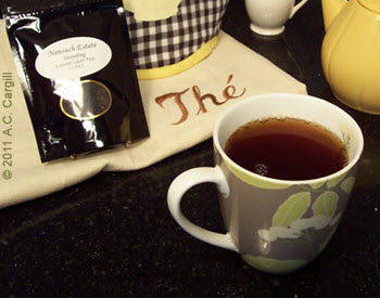 Mmmm!! Nonsuch Estate is a great example of Nilgiri tea. (Photo source: A.C. Cargill, all rights reserved)