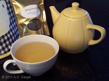 Spring Pouchong - my review (Photo source: A.C. Cargill, all rights reserved)