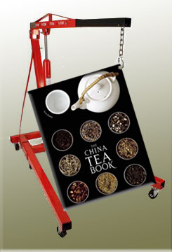 The China Tea Book - it doesn't take a village, just an engine hoist! (stock images)