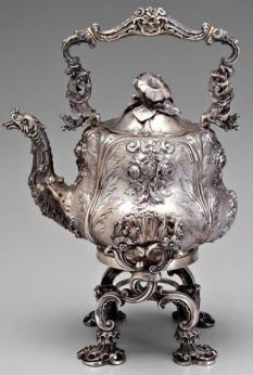 Vintage Silver Teapot (Photo source: screen capture from site)