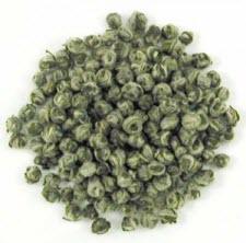 Dragon Pearls Green Tea (Photo source: The English Tea Store)