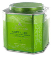 Harney and Sons Green Tea with Coconut, Ginger, and Vanilla (Photo: The English Tea Store)