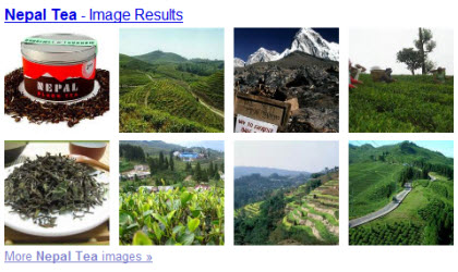 Nepalese Teas (Photo source: screen capture from site)
